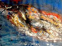 Agnes-Vonhoegen-Tiere-Wasser-Natur-Moderne-Abstrakte-Kunst