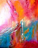 Agnes-Vonhoegen-Dekoratives-Fantasie-Moderne-Abstrakte-Kunst