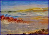 Agnes-Vonhoegen-Landschaft-See-Meer-Natur-Gegenwartskunst-Gegenwartskunst