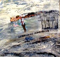 Agnes-Vonhoegen-Menschen-Frau-Landschaft-See-Meer-Moderne-Abstrakte-Kunst