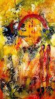Agnes-Vonhoegen-Musik-Gefuehle-Moderne-Abstrakte-Kunst