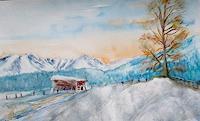 Agnes-Vonhoegen-Landschaft-Winter-Natur-Gegenwartskunst-Gegenwartskunst