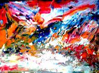 Agnes-Vonhoegen-Gefuehle-Diverse-Weltraum-Moderne-Abstrakte-Kunst