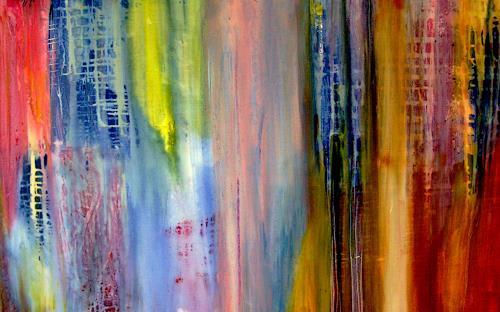 Agnes Vonhoegen, Farbgedanken, Diverse Musik, Dekoratives, Abstrakte Kunst, Expressionismus
