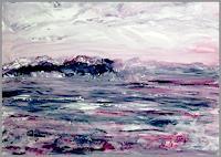 Agnes-Vonhoegen-Natur-Wasser-Landschaft-Berge-Gegenwartskunst-Gegenwartskunst
