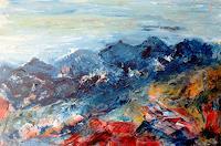 Agnes-Vonhoegen-Landschaft-Berge-Natur-Gestein-Gegenwartskunst-Gegenwartskunst
