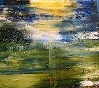 Agnes-Vonhoegen-Landschaft-Fantasie-Gegenwartskunst-Gegenwartskunst
