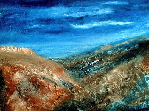 Agnes Vonhoegen, Berglandschaft, Landschaft: Berge, Diverse Landschaften, Gegenwartskunst