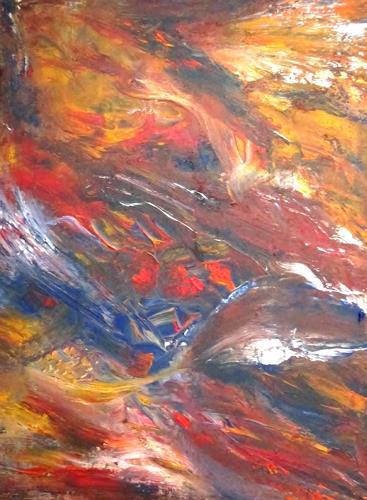 Agnes Vonhoegen, o.T., Abstraktes, Fantasie, Abstrakte Kunst