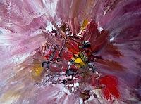 Agnes-Vonhoegen-Fantasie-Dekoratives-Moderne-Abstrakte-Kunst