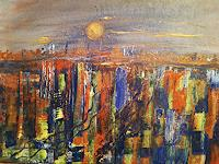 Agnes-Vonhoegen-Diverse-Landschaften-Fantasie-Moderne-Abstrakte-Kunst