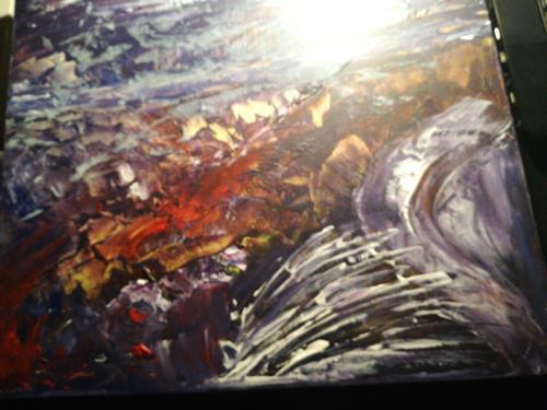 Agnes Vonhoegen, o.T., Abstraktes, Action Painting
