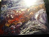 Agnes-Vonhoegen-Abstraktes-Moderne-Abstrakte-Kunst-Action-Painting