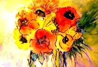 Agnes-Vonhoegen-Pflanzen-Blumen-Natur-Gegenwartskunst-Gegenwartskunst