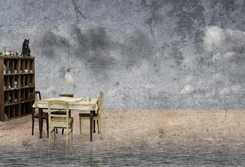 Pascale Turrek, stiller raum, Abstraktes, Abstraktes, Surrealismus, Abstrakter Expressionismus