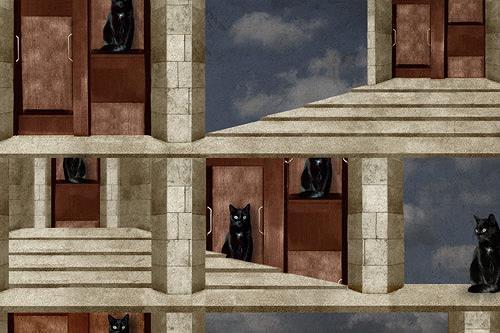 Pascale Turrek, paternoster, Diverse Tiere, Tiere: Land, Surrealismus