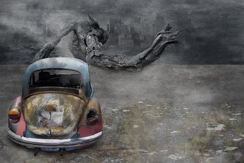 Pascale Turrek, idylle, Diverses, Bewegung, Moderne, Abstrakter Expressionismus