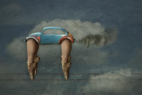 Pascale Turrek, die reise, Bewegung, Verkehr: Auto, Moderne, Abstrakter Expressionismus