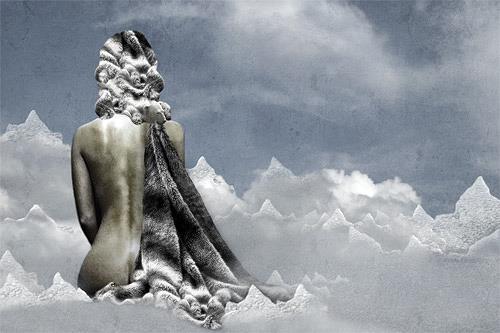 Pascale Turrek, kalt, Menschen: Frau, Diverse Tiere, Surrealismus