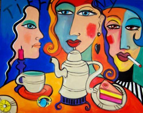 Leonore Zimmermann, Tea by Tiffany ..., Essen