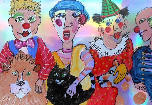 Leonore Zimmermann, Zirkus Roncalli, Zirkus, Zirkus, Abstrakte Kunst