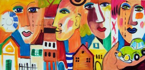 Leonore Zimmermann, my house..my car ..., Abstraktes