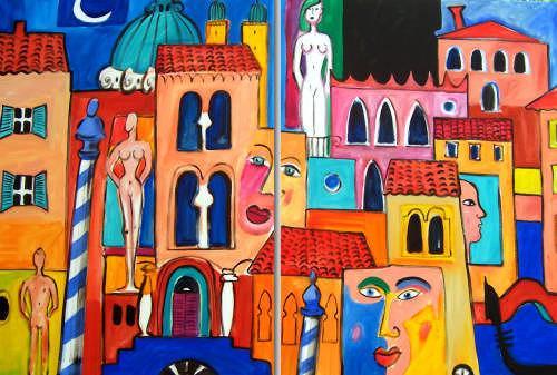 Leonore Zimmermann, We Love Venice ...., Bauten: Haus