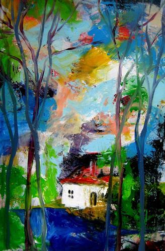 Leonore Zimmermann, das Haus am See, Diverse Romantik, Expressionismus