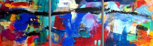 Leonore Zimmermann, along the line, Abstraktes