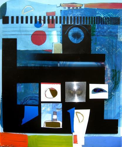 Leonore Zimmermann, in der Reihe, Abstraktes, Fantasie, Informel
