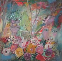 Leonore Zimmermann, mein kleines Gartenparadies