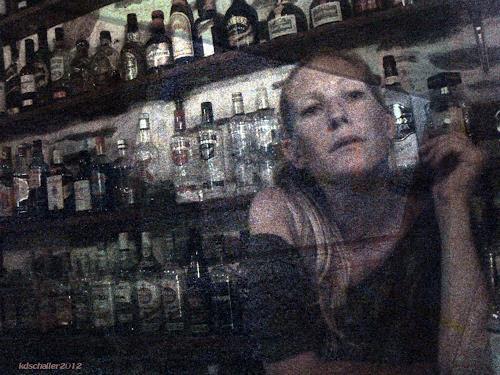 karl dieter schaller, spiegel/haben sie feuer?, Diverses, Gegenwartskunst