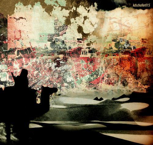 karl dieter schaller, fatamorgana, Diverses, Gegenwartskunst, Abstrakter Expressionismus