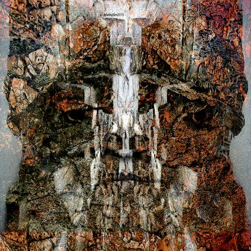 karl dieter schaller, metamorphose 1-krönung, Diverses, Gegenwartskunst, Abstrakter Expressionismus