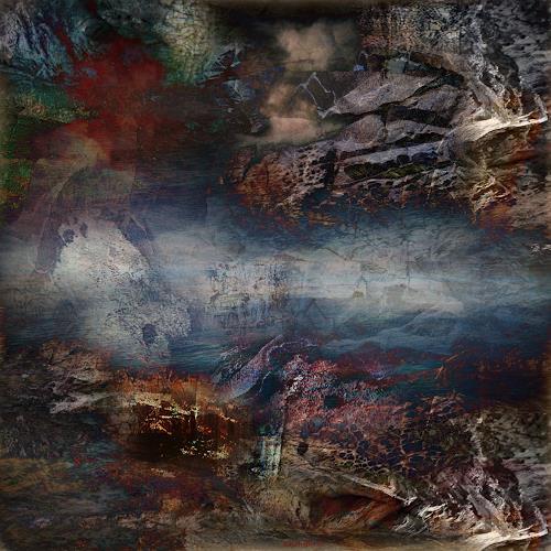 karl dieter schaller, beethoven and black holes wolfish guts.detail.v1, Diverses, Gegenwartskunst, Abstrakter Expressionismus