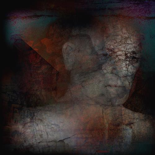 karl dieter schaller, la bête humaine. as usual,out of order. v7, Diverses, Gegenwartskunst, Abstrakter Expressionismus