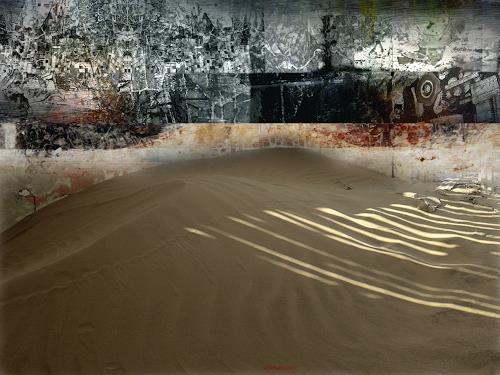 karl dieter schaller, gobi galerie ki-song-fu.v1, Diverses, Gegenwartskunst, Abstrakter Expressionismus