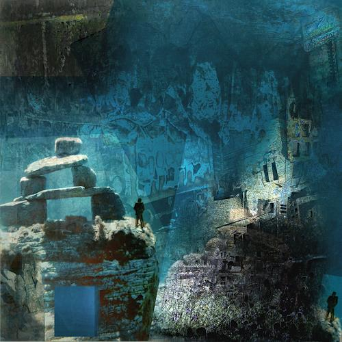 karl dieter schaller, orla.hidden spaces., Diverses, Gegenwartskunst, Abstrakter Expressionismus