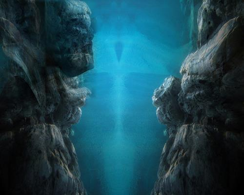 karl dieter schaller, natural aquatic sculptures.v1.detail, Diverses, Gegenwartskunst, Abstrakter Expressionismus