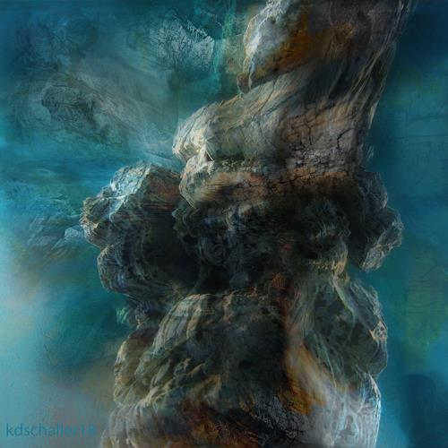 karl dieter schaller, stormy weather.v1, Diverses, Gegenwartskunst, Abstrakter Expressionismus