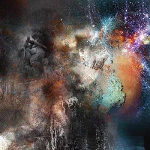 karl dieter schaller, brainstorm.detail. galaxy., Diverses, Gegenwartskunst, Abstrakter Expressionismus