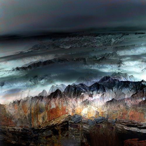 karl dieter schaller, the deep dream.version 1, Diverses, Gegenwartskunst, Expressionismus