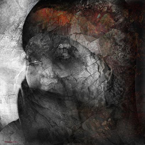 karl dieter schaller, night shadows 1.les affres de la vie., Diverses, Gegenwartskunst, Expressionismus