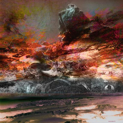 karl dieter schaller, résurrection.v1, Diverses, Gegenwartskunst, Abstrakter Expressionismus