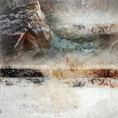 karl dieter schaller, chiseled in granite. detail. version 1, Diverses, Gegenwartskunst, Abstrakter Expressionismus