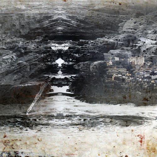 karl dieter schaller, desolation. detail. behind the wallpaper, Diverses, Gegenwartskunst