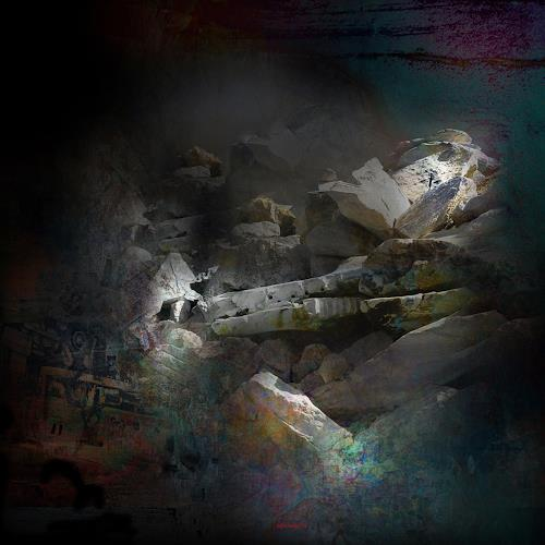 karl dieter schaller, bouleversement.sculpture nature 3, Diverses, Gegenwartskunst, Abstrakter Expressionismus