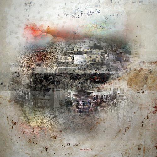 karl dieter schaller, steinfrasscity. behind wallpaper.detail, Diverses, Gegenwartskunst