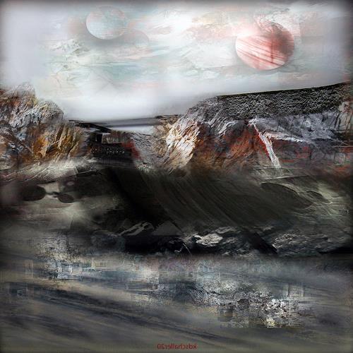 karl dieter schaller, catama 2.version 1, Diverses, Gegenwartskunst, Abstrakter Expressionismus