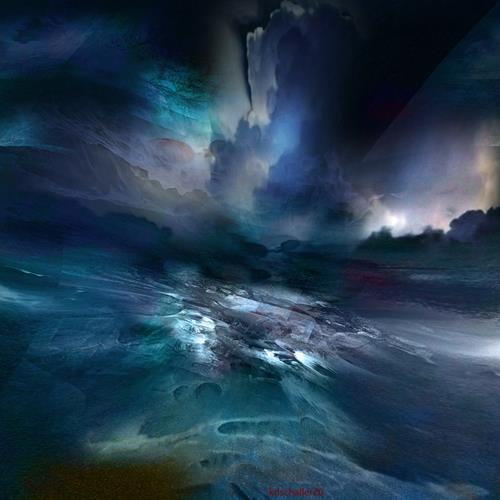 karl dieter schaller, turbulences.v4, Diverses, Gegenwartskunst, Abstrakter Expressionismus